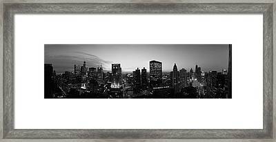 Chicago, Illinois, Usa Framed Print by Panoramic Images
