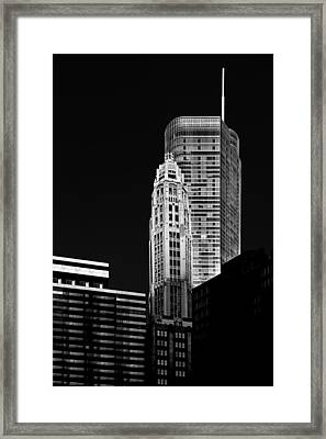 Chicago - Trump International Hotel And Tower Framed Print by Christine Till