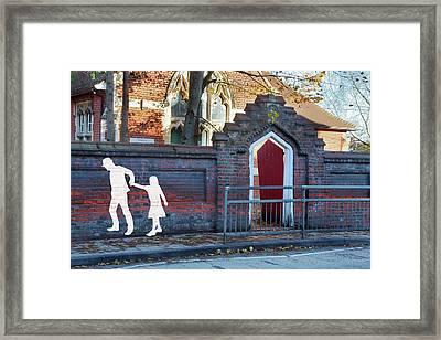 Child Abduction Framed Print by Victor De Schwanberg