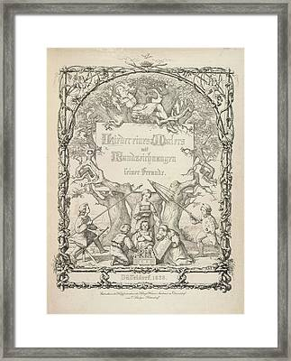 Children Playing Framed Print by British Library