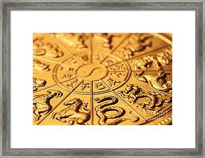 Chinese Zodiacs Framed Print by Lars Ruecker