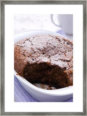 Chocolate Pudding Framed Print by Amanda Elwell