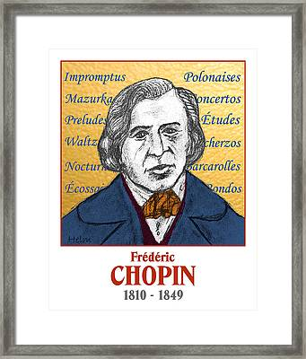 Chopin Framed Print by Paul Helm