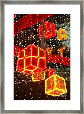 Christmas Decorations Framed Print by Gaspar Avila