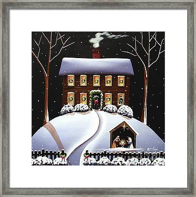 Christmas Nativity Framed Print by Catherine Holman