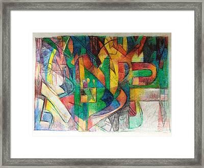 Ci Tisa Framed Print by David Baruch Wolk