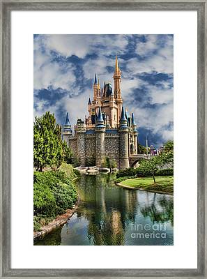 Cinderella Castle II Framed Print by Lee Dos Santos