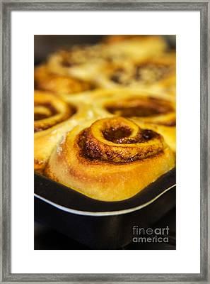 Cinnamon Buns  Framed Print by Iris Richardson