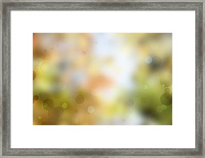 Circles Background Framed Print by Les Cunliffe