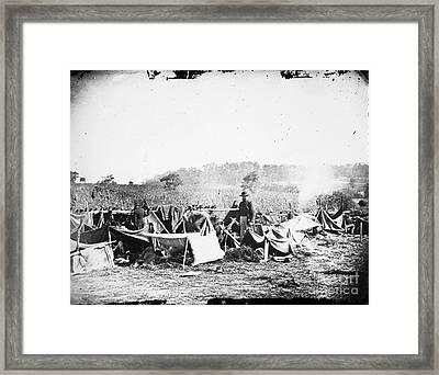 Civil War: Wounded, 1862 Framed Print by Granger