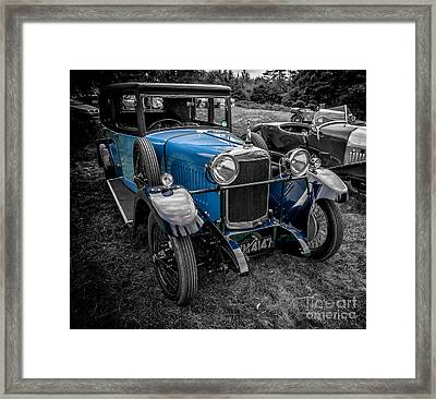 Classic Cars Framed Print by Adrian Evans