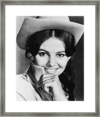 Claudia Cardinale In Circus World  Framed Print by Silver Screen