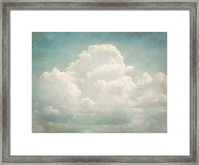 Cloud Series 3 Of 6 Framed Print by Brett Pfister
