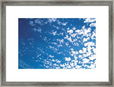 Cloudscape Framed Print by Panoramic Images
