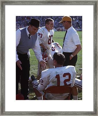 Coach Bear Bryant Framed Print by Retro Images Archive