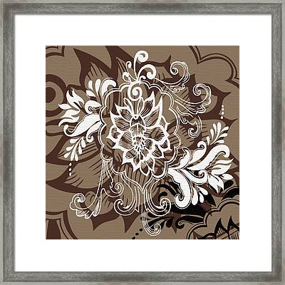Coffee Flowers 10 Framed Print by Angelina Vick