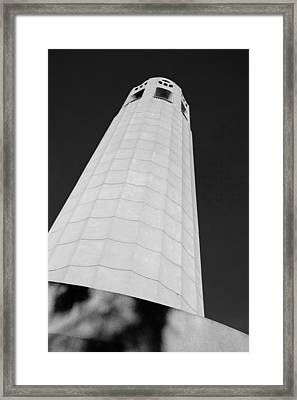 Coit Tower San Francisco Framed Print by David Smith
