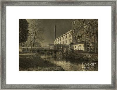 Coldharbour Mill  Framed Print by Rob Hawkins