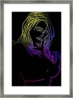 Color Me Up Framed Print by Steve K
