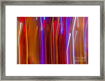Color Rush 4 - Natalie Kinnear Photography Framed Print by Natalie Kinnear