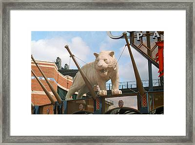 Comerica Park - Detroit Tigers Framed Print by Frank Romeo