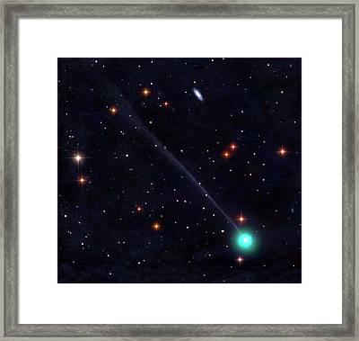 Comet Encke Framed Print by Damian Peach