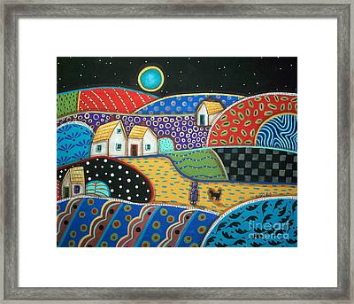 Coming Home Framed Print by Karla Gerard