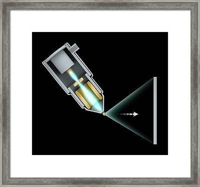 Computed Tomography Scanner Framed Print by Mikkel Juul Jensen