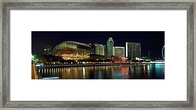 Concert Hall At The Waterfront Framed Print by Panoramic Images
