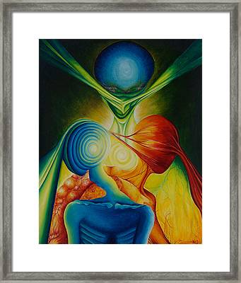 Consume The Vanquished Framed Print by Amy Elizabeth Quirk