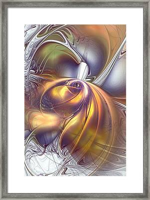 First Contact Framed Print by Anastasiya Malakhova