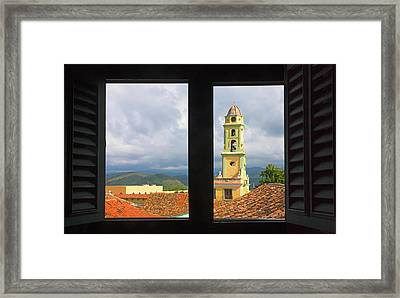 Convent Of San Francisco De Asis Framed Print by Keren Su