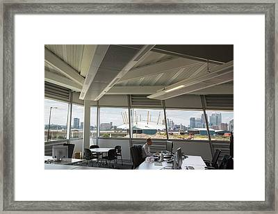 Cooling Panels Run By Cold Water Framed Print by Ashley Cooper