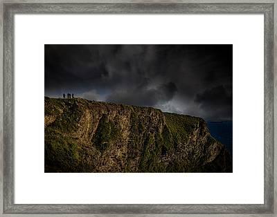 Cornish Coast Framed Print by Martin Newman