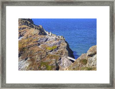 Cornwall - Tintagel Framed Print by Joana Kruse