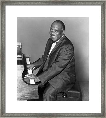 Count Basie (1904-1984) Framed Print by Granger