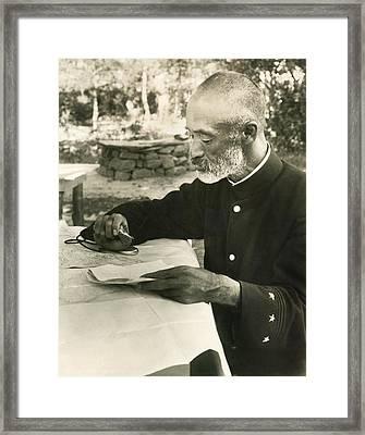 Count Nogi Maresuke Framed Print by Underwood Archives