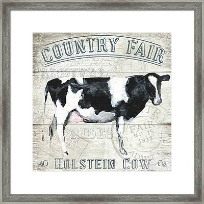 Country Fair Framed Print by Gail Fraser