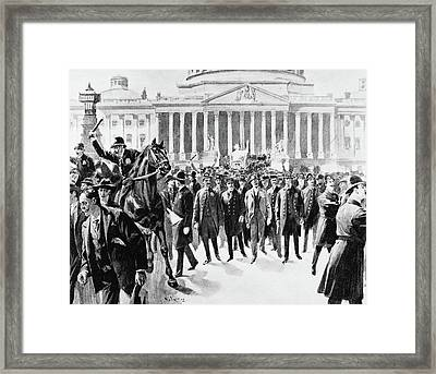 Coxey's Army, 1894 Framed Print by Granger