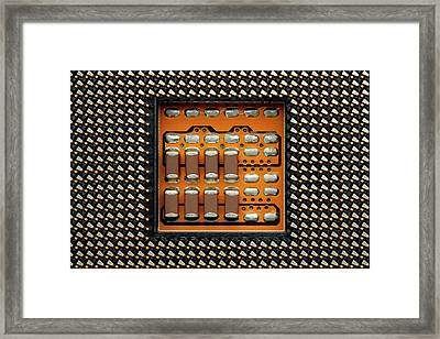 Cpu Socket Framed Print by Antonio Romero