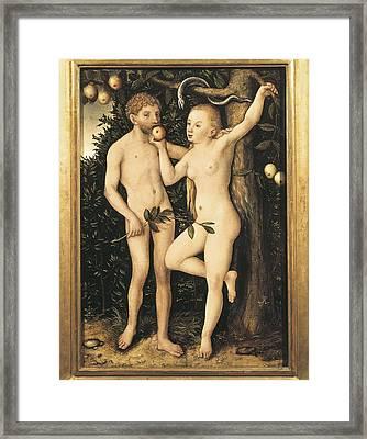 Cranach, Lucas, The Elder 1472-1553 Framed Print by Everett