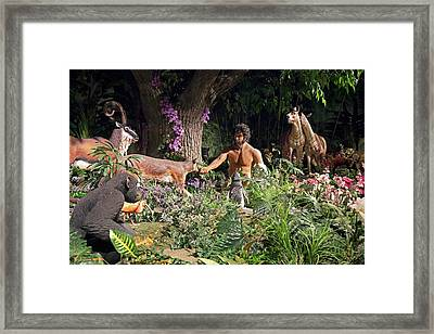 Creation Museum Exhibit Framed Print by Jim West
