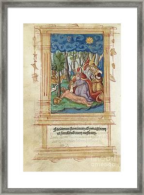 Creation Of Eve, Artwork Framed Print by Detlev van Ravenswaay