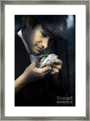 Criminal With Weeds And Green Grass Framed Print by Jorgo Photography - Wall Art Gallery
