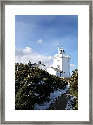 Cromer Lighthouse Framed Print by Paul Lilley