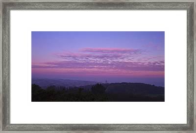 Cromer Sunrise  Framed Print by David French