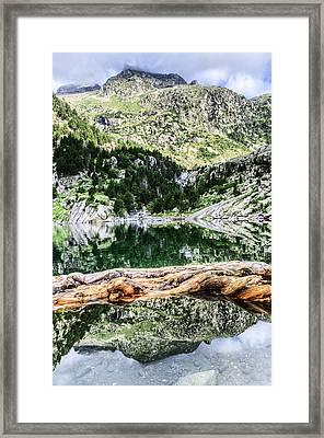 Crystall Water Framed Print by Tilyo Rusev