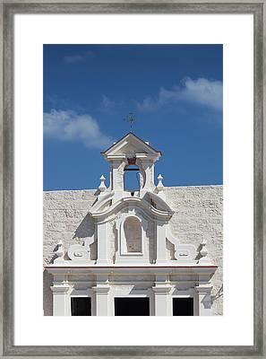 Cuba, Havana, Fortaleza De San Carlos Framed Print by Walter Bibikow