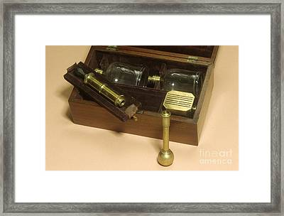 Cupping Set, 19th Century Framed Print by Science Photo Library