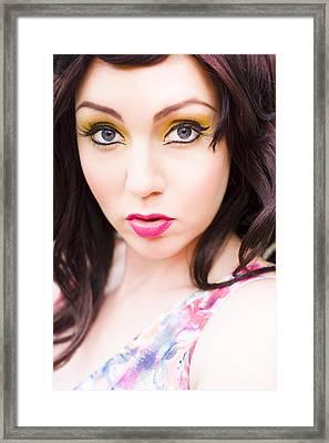Cute Framed Print by Jorgo Photography - Wall Art Gallery